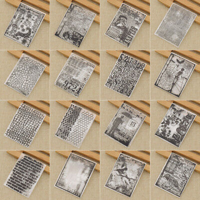 Sparrow Numbers Transparent Clear Silicone Stamps for Scrapbooking Card Making
