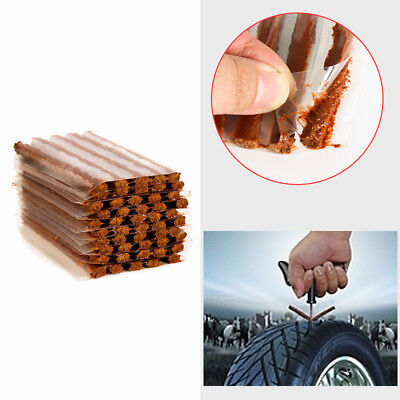 10pcs Car Auto Tyre Tubeless Seal Strip Plug Tire Puncture Repair Recovery Kit