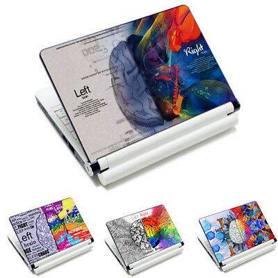 """Brain Laptop Sticker Skin Decal Cover For 11""""~15.6"""" HP Dell Acer Toshiba Lenovo"""