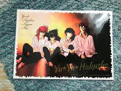 Yu yu Hakusho Event limited Not for sale Placemats Yusuke Kuwabara Kurama Hiei