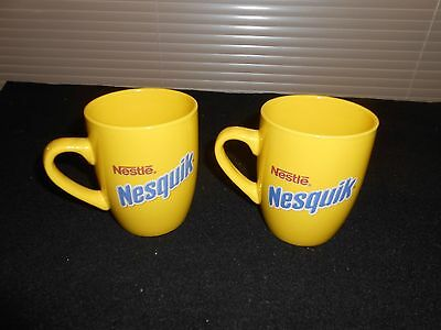 Set Of 2 Nestles Nesquik Coffee Cups With Nestles Mascot On Cups