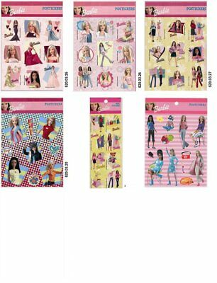 Lot 7 Pcs Barbie Stickers Decal Collectible …