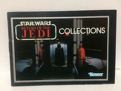 Vintage Star Wars Return Of The Jedi Collections Booklet 1983 Good Cond 12 Pages