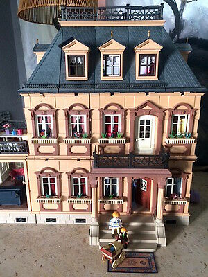 playmobil schlafzimmer villa puppenhaus nostalgie sammler eur 13 90 picclick de. Black Bedroom Furniture Sets. Home Design Ideas