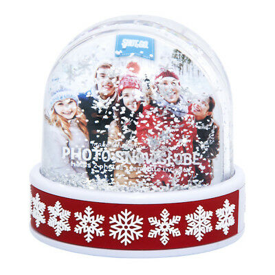 Shot 2 Go Christmas Photo Snowglobe Holds 2 Photos With Template