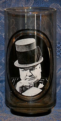 "ARBY'S Collector's Series #6 of 6 GLASS ""MY LITTLE CHICKADEE"" W.C. Fields, 1979"