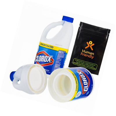 Clorox Jumbo 64 oz Large Diversion Safe Stash Can w HumanFriendly Smell-Proof Ba