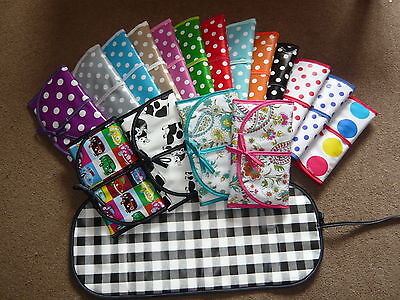 Babys Traveling Changeing Mat In Pvc Vinyl Oilcloth Can Be Folded Or Rolled