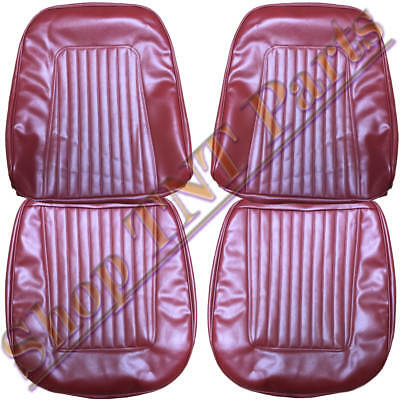 Marvelous 1967 1968 Camaro Seat Covers Front Bucket Upholstery Skins Onthecornerstone Fun Painted Chair Ideas Images Onthecornerstoneorg