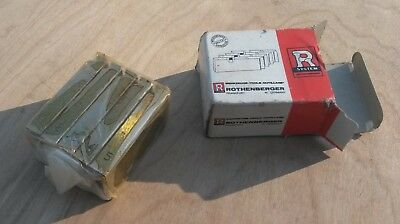 """Rothenberger 5.6008 pipe threading dies 3&1/2"""" to 4"""" threader NEW"""