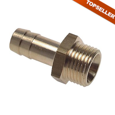 Threaded Male with zylindr. Thread,Grommet,Screw Connection,Brass,innenk. PN16