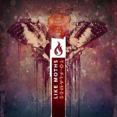 like moths to flames - the dying things we live for vinyl+cd #98177