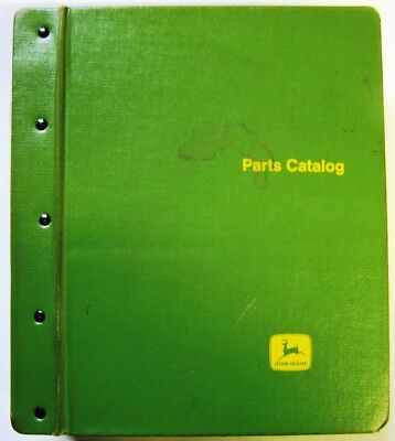 John Deere Cultivators-Chisel Plows-Wagons Parts Manuals In Factory Binder