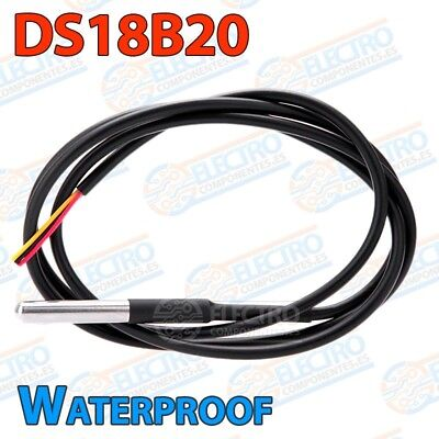 DS18b20 Waterproof - Sensor de Temperatura sumergible - Electronica Arduino DIY