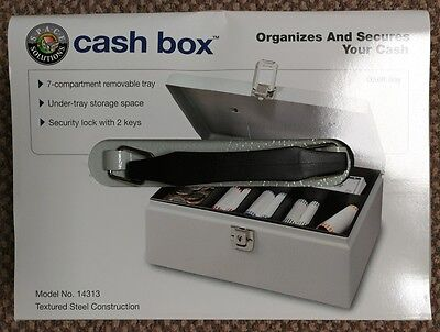 Cash Box Brand New as in pictures. Great money organizing tool.