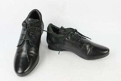 Derby Shoes Heyraud Black Leather T 37,5 Very Good Condition