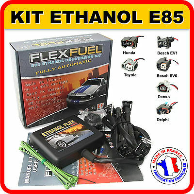 Kit Ethanol E85 - 4 Cyl., Kit De Conversion Bioethanol E85 ( Made In France )