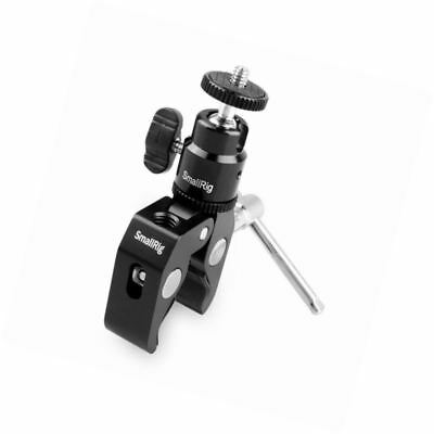 SmallRig Clamp Mount V1 w/ Ball Head Mount Hot Shoe Adapter and Cool Clamp - 112