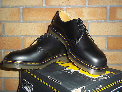 Dr Martens Black 3 Eyelet Made In England Gibson