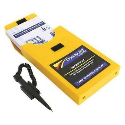 IRONguard 70-1071 CHECKLIST Caddy For Electric Counter Balance Lift Truck - NEW