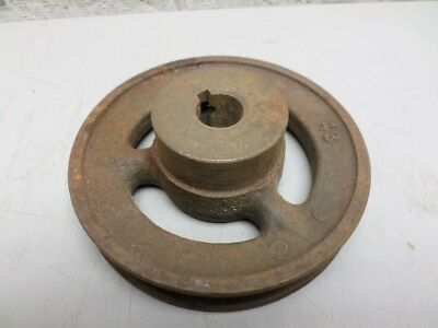 4.25 Inch Single Groove Pulley Sheave 5/8 Inch Bore 4l (A) 3L Belt Types