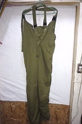 Canadian Forces Insulated  Combat OVERALLS EC/CWCS TALL MEDIUM 73/34
