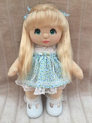 My Child Doll Blonde UL Aqua Charcoal Minty