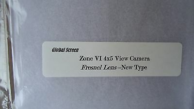 Zone VI  or Shen Hao 4x5 camera 2 in 1 Fresnel lens and ground Glass Combination