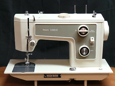 Sears Kenmore 1311 Heavy Duty Sewing Machine Leather Upholstery