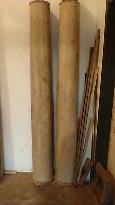 Architectural Antique Wood Pillars Columns outdoor or indoor use Hollow Inside