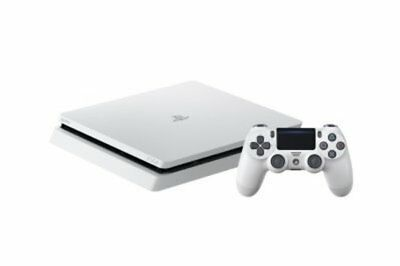 PlayStation 4 Console 500GB Slim White PlayStation 4 SCE