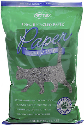 Pettex Paper Cat Litter 30 Litre - Free UK Delivery - Brand NEW