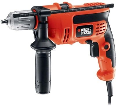 New BLACK+DECKER DR670 6 Amp 1/2 in. Corded Hammer Drill Driver