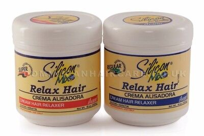 Silicon MIX Cream Hair Relaxer16oz/454g Permanent hair straightening cream