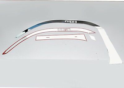 Volvo FH12 Fender Trim Super Polished Stainless Steel 6 Pcs