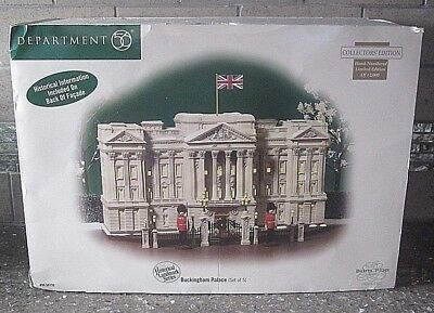 Dept 56 Dickens Retired 58736 Limited Edition Buckingham Palace  **mib**