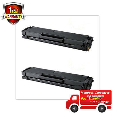 2PK for Samsung MLT-D101S Black Laser Toner Cartridges for SCX-3405FW Printer