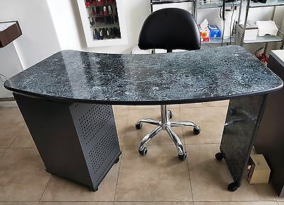 Professional Manicure Table Desk Beauty Salon Furniture Equipment Used