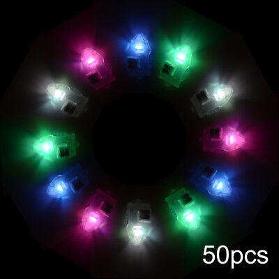 50x LED Light Balloon Mini Glow White/Color Changing Lamp for Home Wedding Party