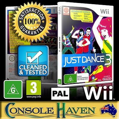 (Wii Game) Just Dance 3 / III / Three (G) (Music) PAL, Guaranteed, Cleaned
