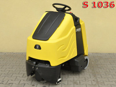 STEP-ON BRUSH-TYPE VACUUM CLEANER KARCHER CV 85/2 RS Bp / 760mth / 2000£ 0% TAX