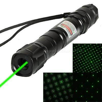 5 Miles 532nm Green Laser Pointer Strong Pen High Power 8000M Pointer NEW