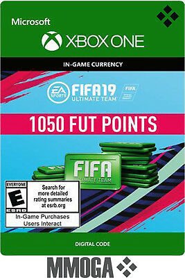 FIFA 19 FUT Points 1050 - Xbox One Version Ultimate Team - 1050 FUT Points Code