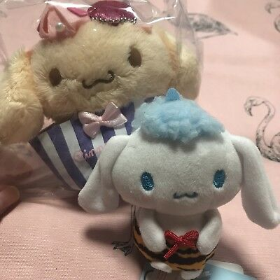 cinnamon roll mascot small plush otenori doll set of 2 kawaii cute sanrio lolita