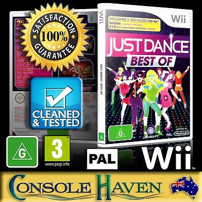 (Wii Game) Just Dance: Best Of / The (G) (Music & Dancing) PAL, Guaranteed
