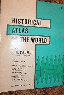 Vintage 1969 Historical Atlas of the World Maps BC to 1961 Color