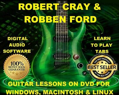 Robben Ford 16 & Robert Cray 29 Guitar Tabs Software Lesson CD & 36 Backing Trax
