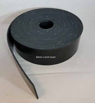 Solid Neoprene Rubber Strips Various Sizes Available