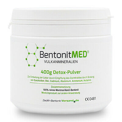 Bentonite MED® detox powder 400g