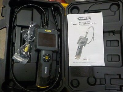 General Tools & Instruments DCS312 Heavy-Duty Video Inspection Camera System
